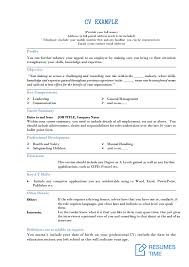 Cv Samples Customer Service Resume Resumestime Com