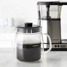bonavita 8 cup double walled glass carafe for digital coffee brewer