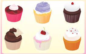 Download Vector Cupcakes Vectorpicker
