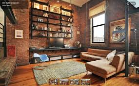 Industrial Wall Decor An Industrial Style Loft For 925000 In Park Slope Industrial