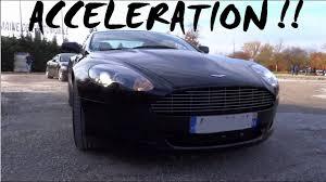 Hard Acceleration Aston Martin Db9 Maserati Granturismo Youtube