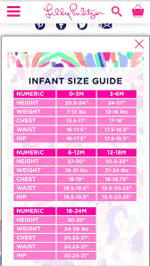 Lilly Pulitzer Size Chart Dresses Lilly Pulitzer Infant Size Chart Cute Baby Girl Outfits