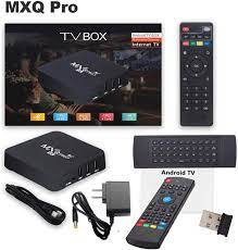 Buy MXQ PRO 5G with Wireless Mini Keyboard Android 10.1 tv Box Ram 2GB ROM  16GB Android Smart Box H.265 HD 3D Dual Band 2.4G/5.8G WiFi Quad Core Home  Media Player Online