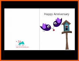Template Anniversary Card 5 Free Anniversary Card Templates Ml Datos