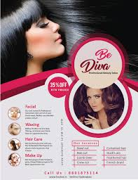 Entry 10 By Mohammedcolors For Design A Flyer For Beauty