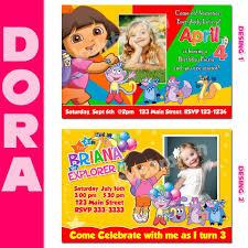 dora party invitations printable invitation templates word dora party invitations printable invitation templates word