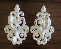 antique coat hooks white