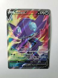 1 x Sword & Shield Sableye V FA 194/202 Pokemon TCGO Online Digital Pokémon  Trading Card Game schi-brettl-werkstatt Toys & Hobbies