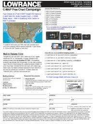 Fillable Online C Map Free Chart Campaign Lowrance Fax