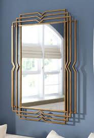 metal venison dc mirror