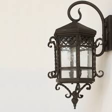 graceful rustic exterior lights on 15 outdoor wall lighting in rustic bronze finish
