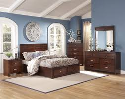 New Classic Bedroom Furniture New Classic Kensington 4 Pc Panel Storage Bedroom Set In Burnished