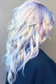 Holographic Hair Is The Fairidescent Dye