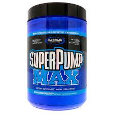 gaspari nutrition superpump max blue raspberry ice 1 41 lbs 640 g