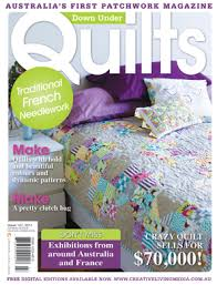 Red Pepper Quilts: Downunder Doll Quilt Swap #2 & The cover of the magazine features a quilt designed and made by Sarah  Fielke. The quilt/pattern is called Ups and Downs, and Sarah has combined  her new ... Adamdwight.com