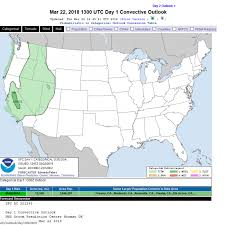 Convective Outlook Chart Convective Outlook Storm Prediction Science Trends