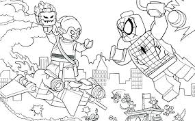 Lego Marvel Superheroes Coloring Pages At Getdrawingscom Free For