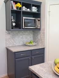 Open Kitchen Cupboard A Mix Of Traditional Cabinetry And Open Shelving Provides Maximum