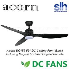 acorn dc159 dc ceiling fan