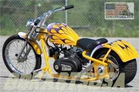 custom mini chopper made in usa