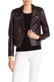 image of paige danette leather jacket