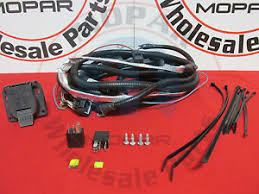 trailer wire harness jeep grand cherokee jeep grand cherokee 7 pin trailer wiring harness mopar oem new