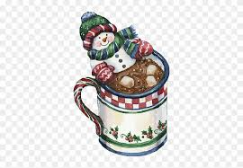 hot chocolate christmas clip art. Delighful Hot Christmas Snowman Hot Cocoa Clip Art  With Chocolate Clipart ClipartMax