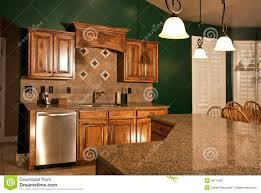 Center Island Kitchen Kitchen With Center Island Royalty Free Stock Photos Image 13028758