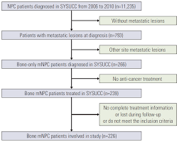 Sf Rank And Exp Chart Subdivision Of Nasopharyngeal Carcinoma Patients With Bone