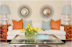 Orange And Yellow Living Room Color Your Life With An Orange Living Room