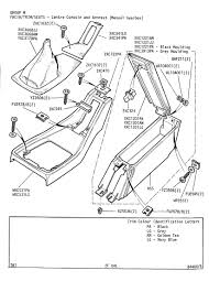 Revington tr tr7 plate 2f 04l facia trim seats centre console car transmission diagram open plate