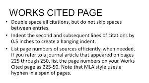 How To Format A Works Cited Page In Mla Monzaberglauf Verbandcom