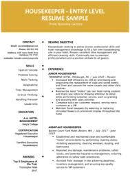 Resumee Example 80 Free Professional Resume Examples By Industry Resumegenius