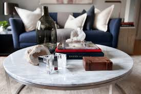 marble coffee table décor styling