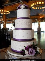 20 best Wedding cakes images on Pinterest | Backen, Cake craft and ... & the color on this wedding cake makes it pop! maybe do this in turquoise with Adamdwight.com