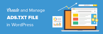 how to create and manage ads txt files in wordpress