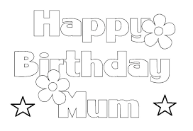 Coloring Page Happy Birthday Happy Birthday Cards Coloring Pages Dad