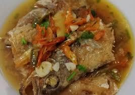 Sedangkan ikan su'kang dan lamuru cocok untuk dibakar. Bagaimana Menyiapkan Ikan Kerapu Goreng Tumis Sempurna Kreasi Masakan
