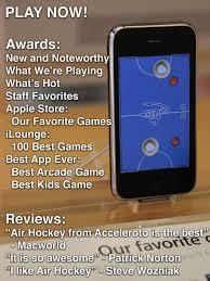 air hockey gold on the app