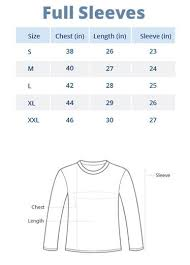 Polo Shirt Size Chart Sizing Chart Wear Your Opinion Wyo In