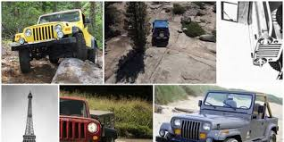 The Complete Visual History Of The Jeep Wrangler From 1986