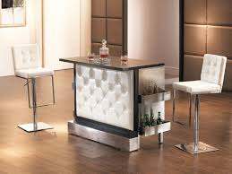 funiture modern bar table sets style with round tall chrome