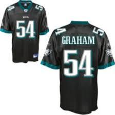Jersey Black Graham Nfl Eagles Alternate 55 Game Youth Philadelphia Brandon