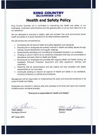 Health And Safety Policy Know the health and safety policies Coursework Academic Writing Service 1