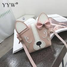 animal type cross bag for girls pu leather handbag cartton shoulder bag luxury handbags women bags