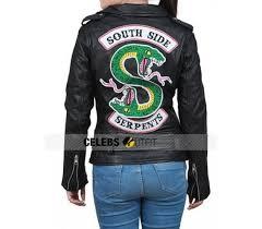 southside serpents black leather jacket southside serpents black leather jacket