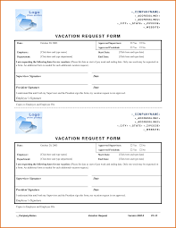 Vacation Request Forms For Employees Example Certificate Of Employment Sample For Office Staff Copy