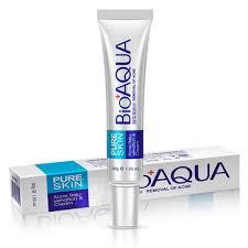 <b>Bioaqua acne treatment</b> cream facial scar mark lightning oil control ...