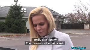 Desperate Czech MILF Black Canary fucks for quick cash in POV.