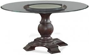 safa espresso hampton 54 round dining tablegallery image